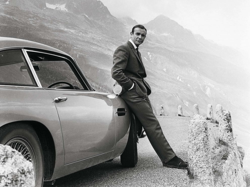 PHOTO: Sean Connery starred as the fictional spy James Bond in the 1964 hit, Goldfinger.