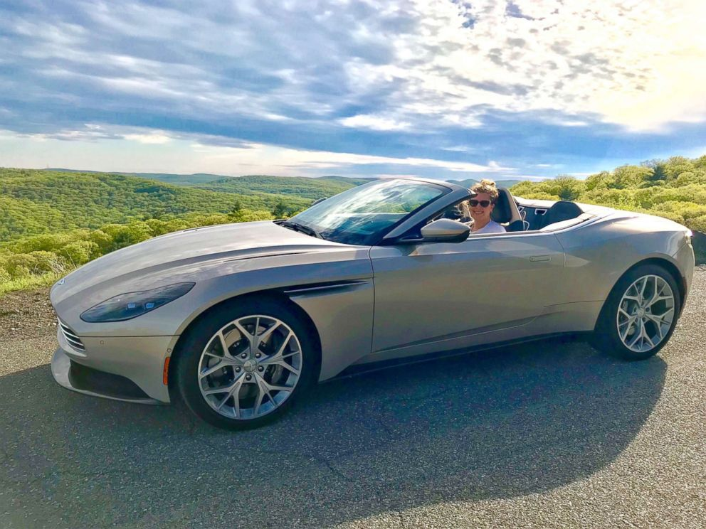 PHOTO: ABC News Morgan Korn drives the Aston Martin Volante.