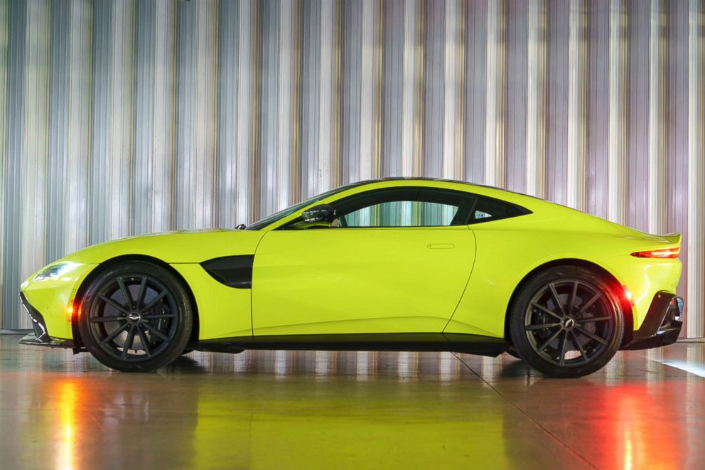 PHOTO: Aston Martin is hoping the brand new Vantage will appeal to a younger demographic.