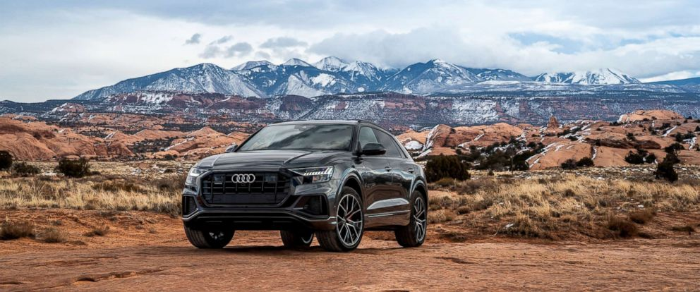 PHOTO: The new Audi Q8 SUV has a sleeker and more aggressive design.