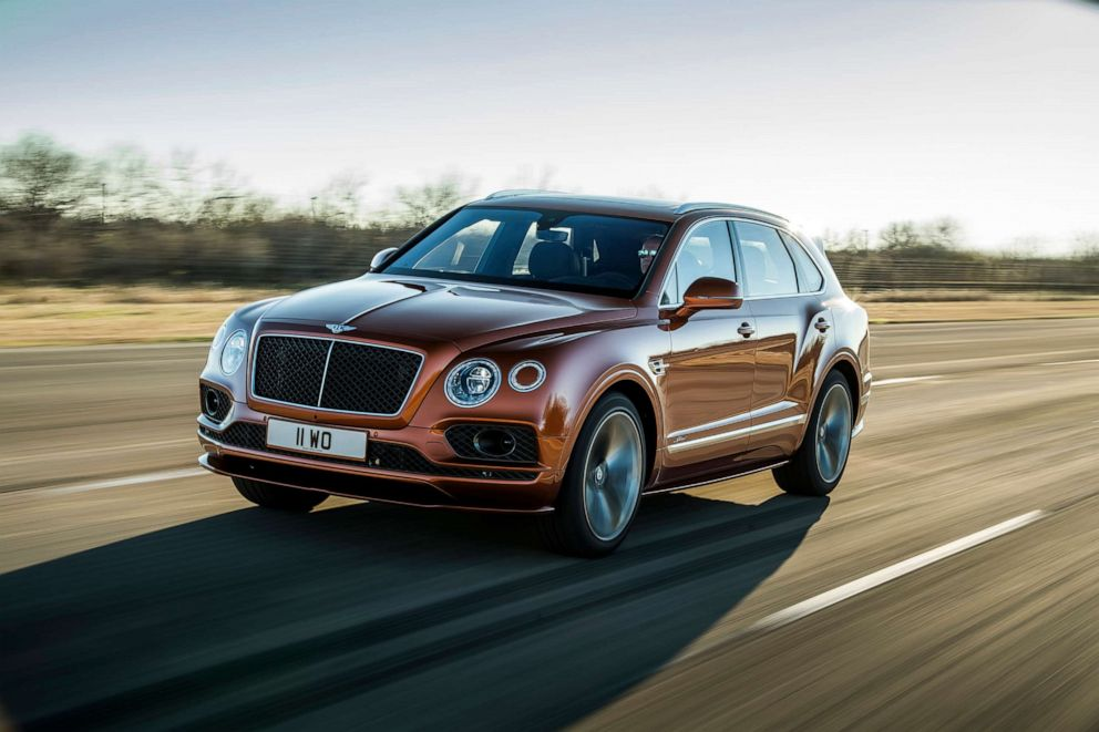 PHOTO: The Bentayga Speed is the worlds fastest SUV.