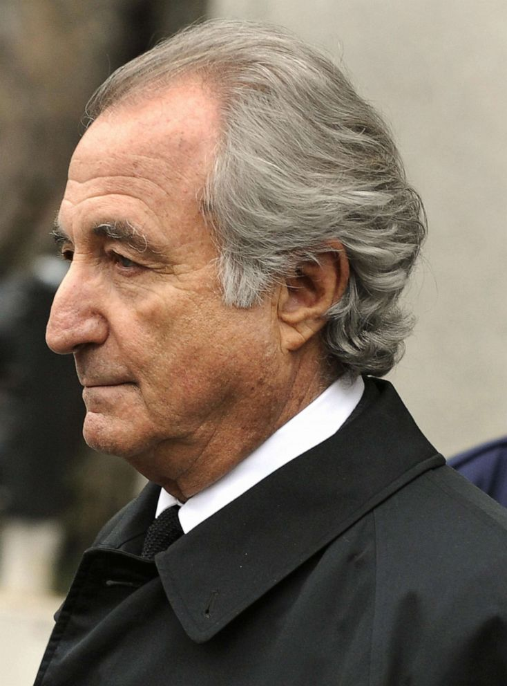 PHOTO: In this March 10, 2009, file photo, disgraced Wall Street financier Bernard Madoff leaves US Federal Court after a hearing in New York.