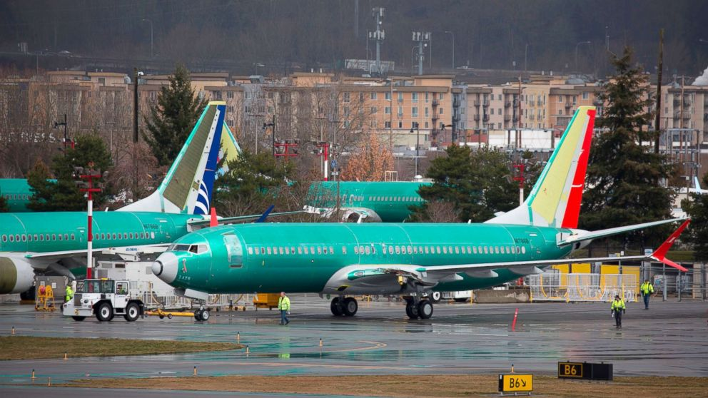 Boeing says it will take $1 billion hit on grounding of the 737 Max jet