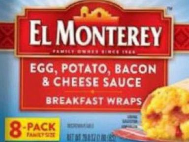 Breakfast burritos recalled after customers find 'small rocks' inside