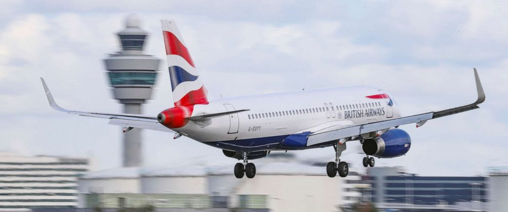 PHOTO:A British Airways landS at Schiphol International Airport in The Netherlands in this file photo.