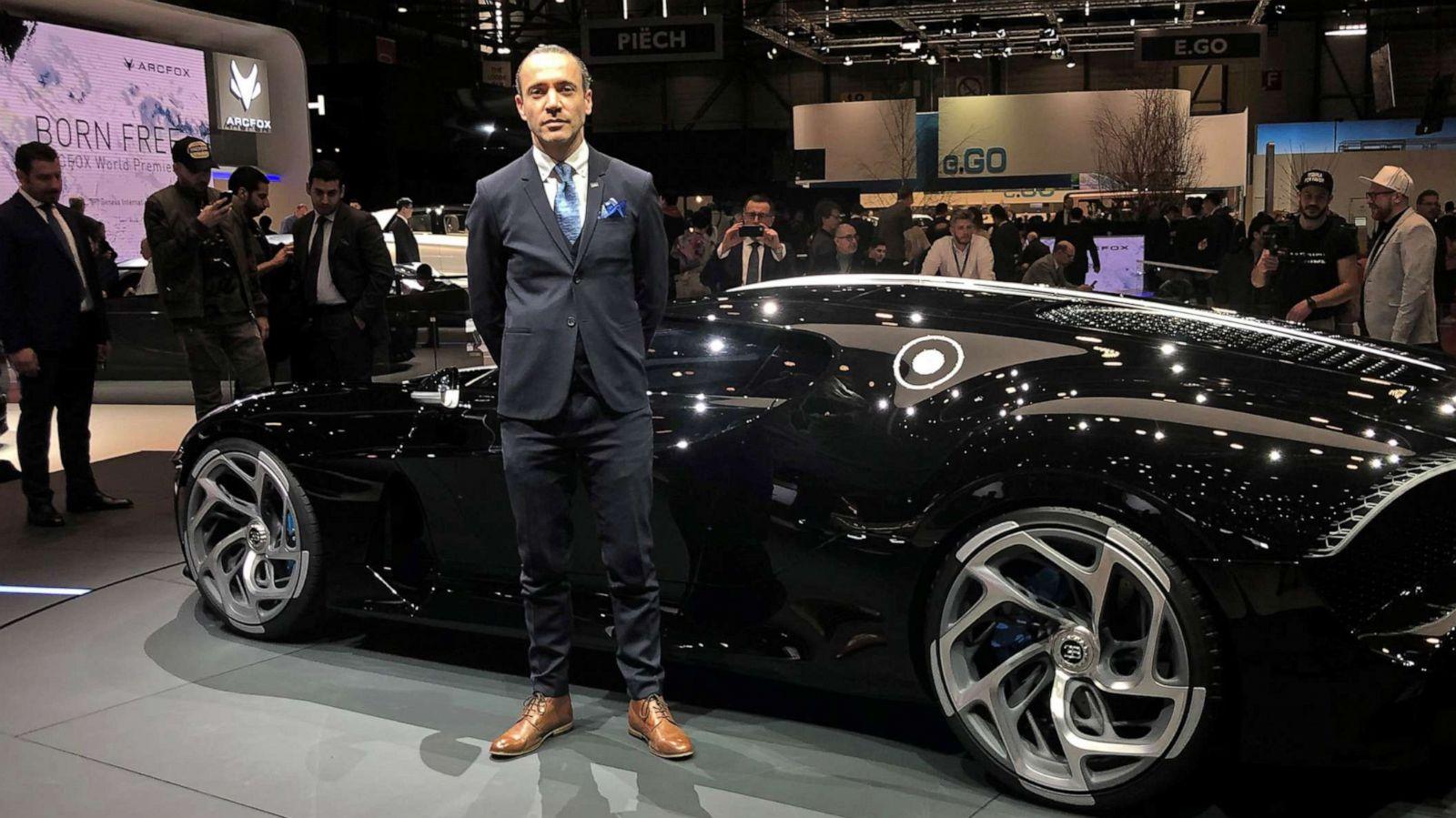 Meet The Designer Of The 19m Bugatti La Voiture Noire The World S Most Expensive New Car Abc News