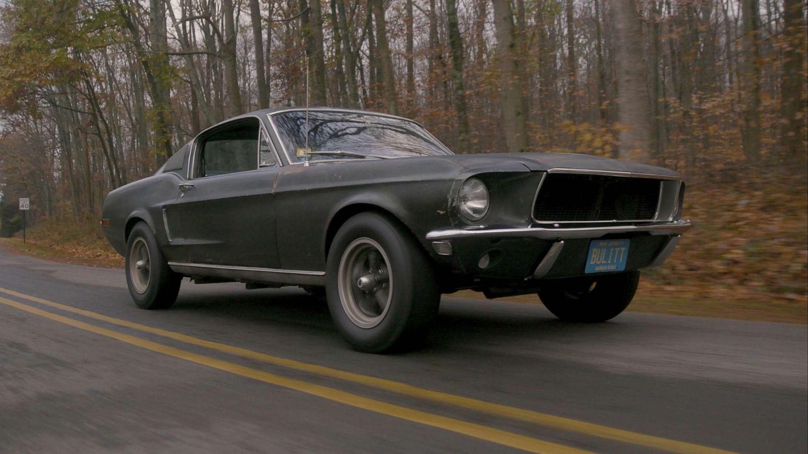 Mustang Made Famous In Steve Mcqueen Movie Bullitt Expected To