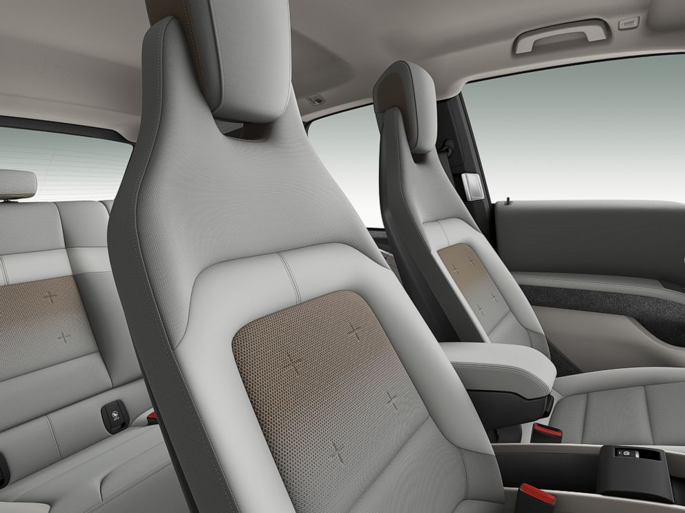 PHOTO: The SensaTec seats of the new BMW i3.