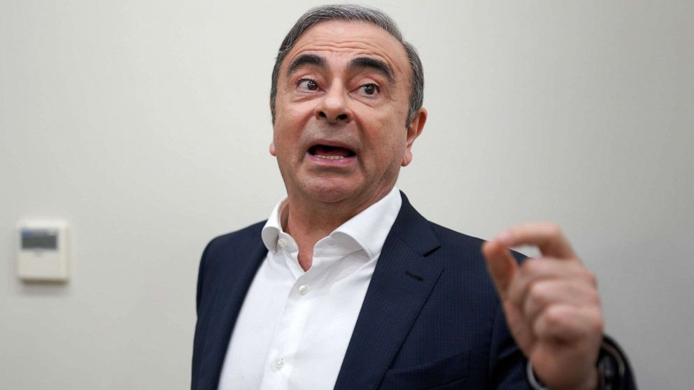 Men accused of helping ex-Nissan chief Carlos Ghosn escape from Japan arrested thumbnail