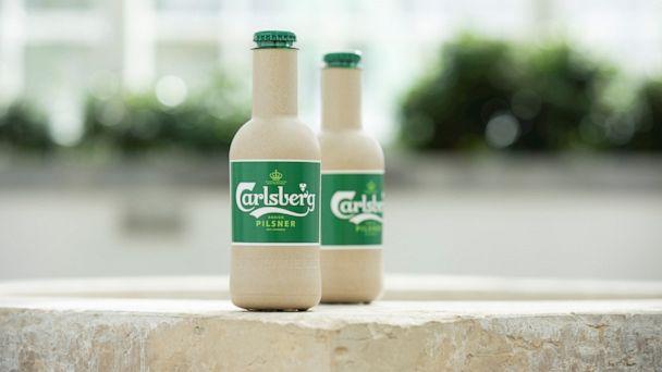 Danish brewer Carlsberg could soon be selling beer in paper bottles