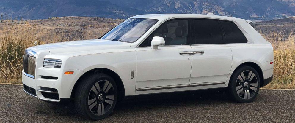 PHOTO: The Rolls-Royce Cullinan SUV