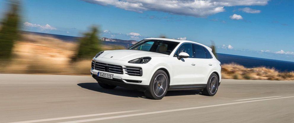 PHOTO: A Porsche Cayenne is seen here.