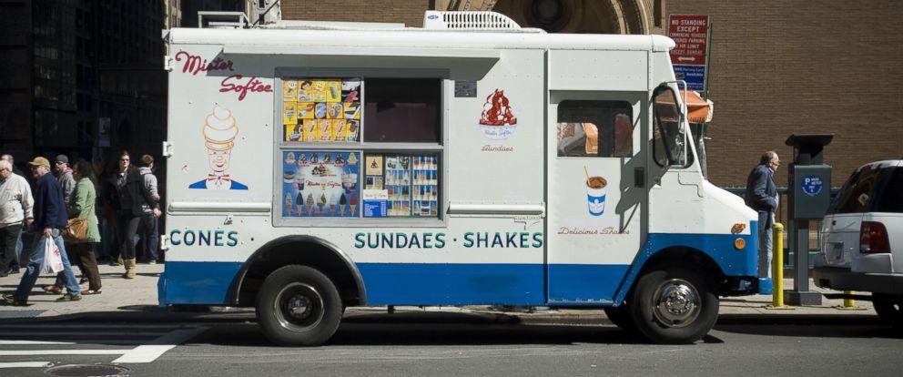 Ice Cream Truck Mr Softee Ice Cream Rival...