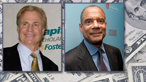 American Express CEO Kenneth Chenault and Capital One CEO Richard Fairbank