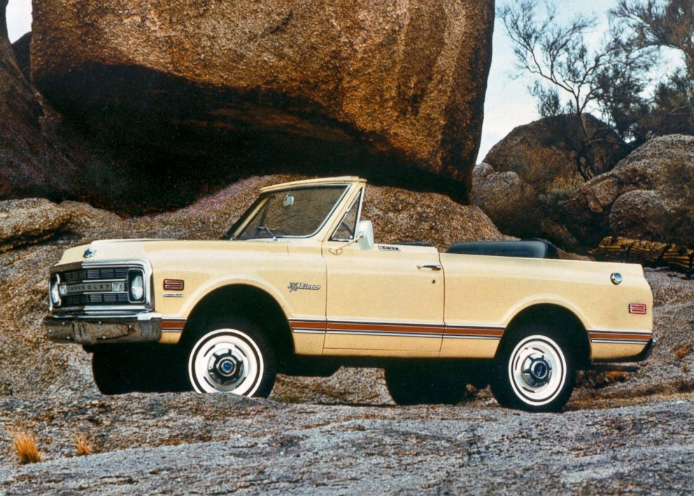 PHOTO: Paul Hitch helped design the 1969 Chevy Blazer, seen here.