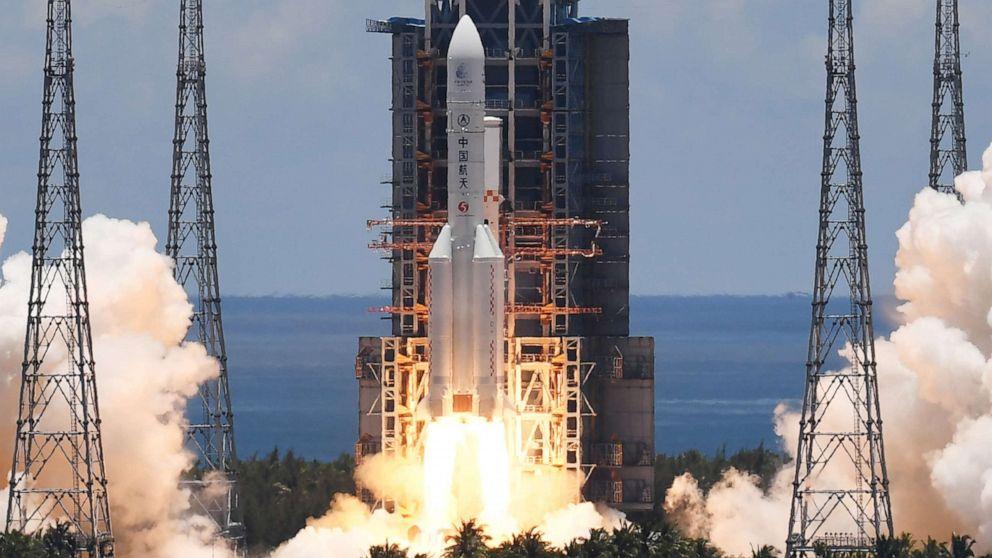 China unveils ambitious 'roadmap of human Mars exploration' - ABC News
