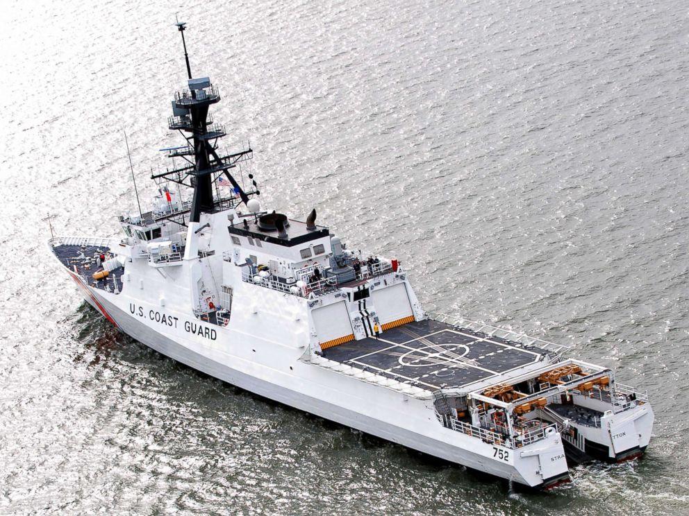 PHOTO: An undated stock photo of a U.S. Coast Guard ship.