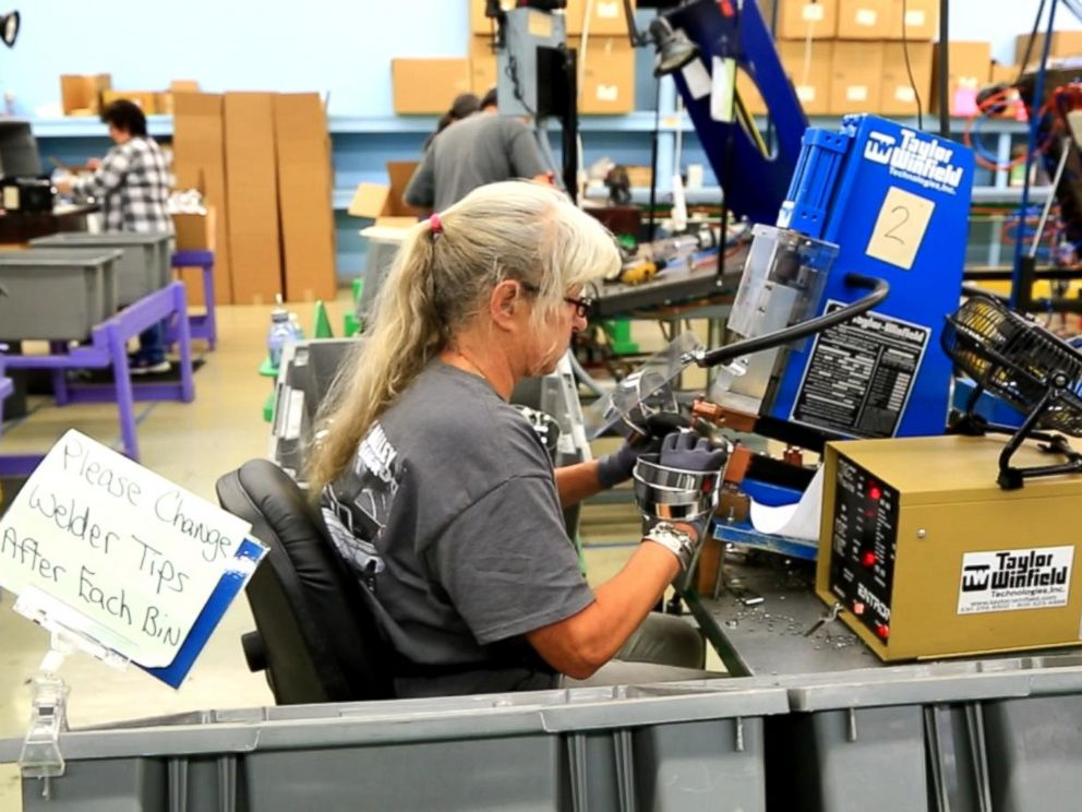 PHOTO: Ann Clark Cookie Cutters of Rutland, Vermont, started in 1989. The company makes 3.5 million cookie cutters a year.
