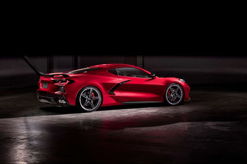 PHOTO: The 2020 Stingray boasts a 6.2L small block V8 LT2 engine, the only naturally aspirated V8 in the segment.