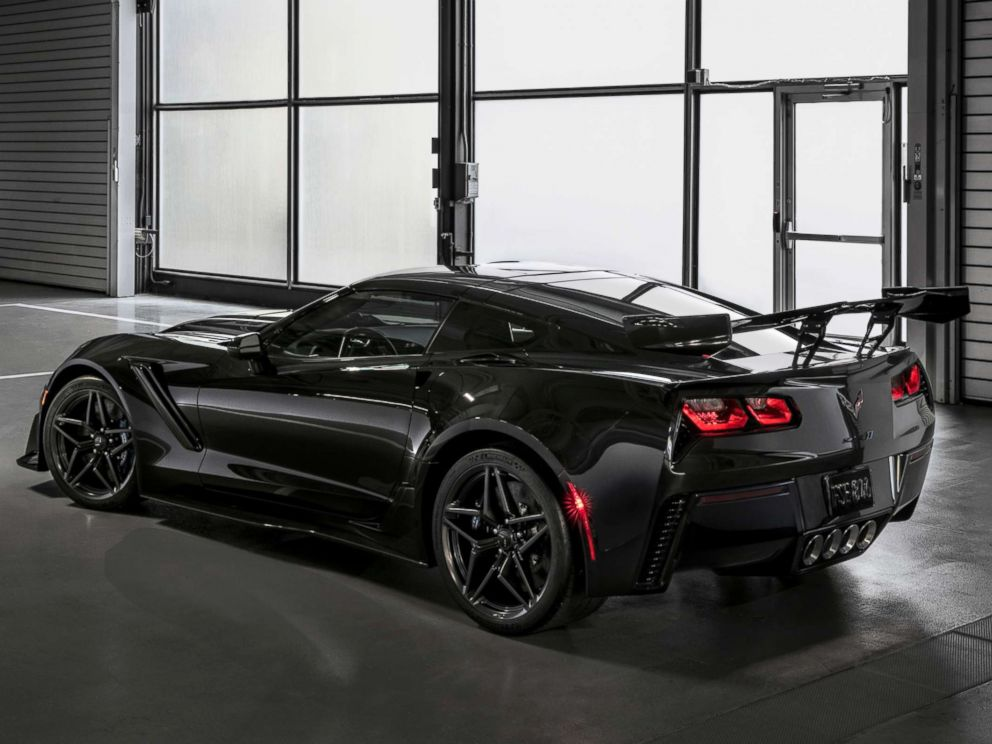 PHOTO: The Corvette ZR1 has a supercharged 6.2-liter V8 engine that produces 755 horsepower.