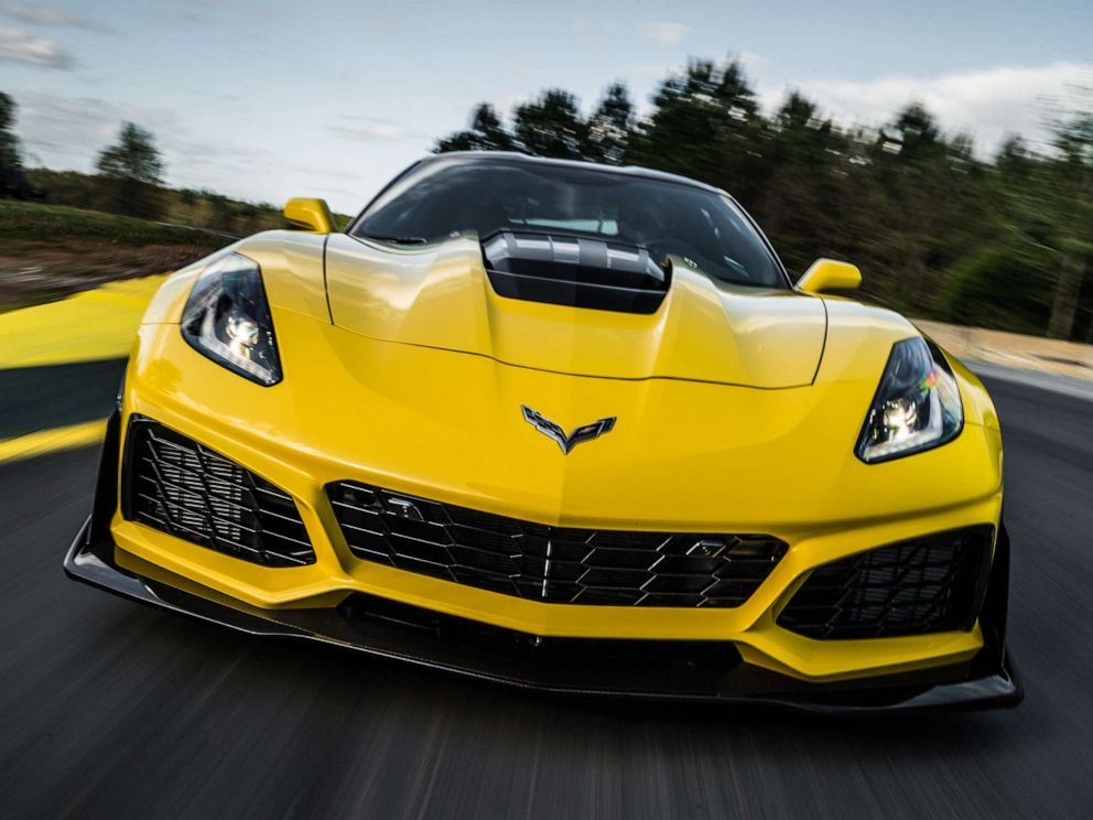 PHOTO: Corvettes iconic front engine design will be a relic of its storied past. Shown here is the $130K ZR1.