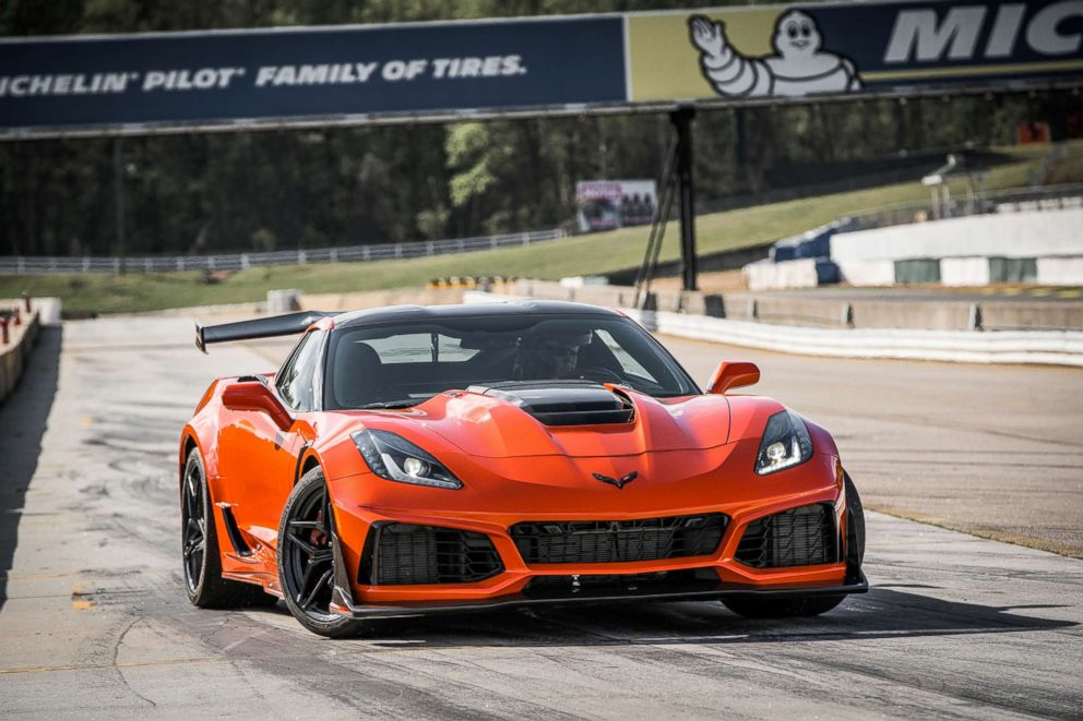 PHOTO: Five Corvette engineers worked to perfect the burble sound on the ZR1.