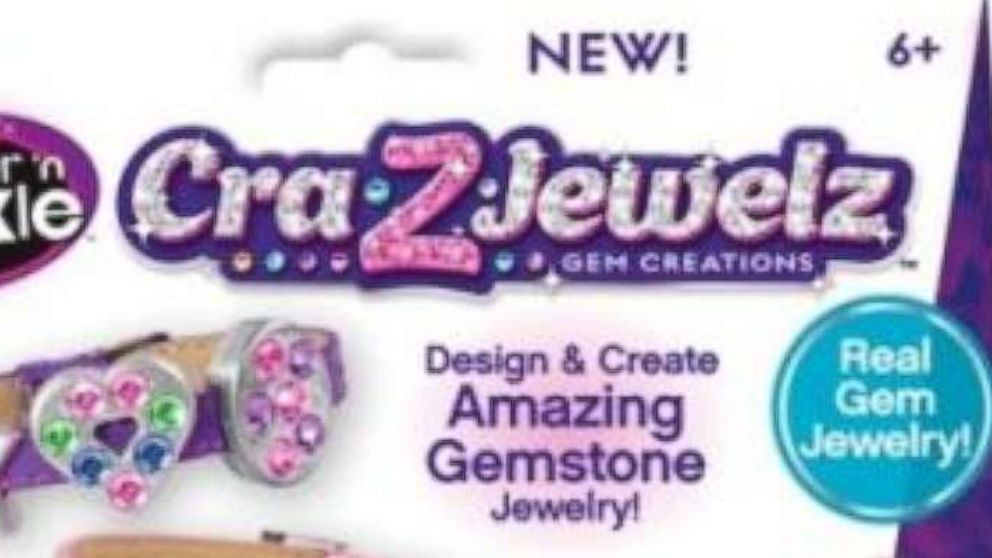 Cra-Z-Jewelz Ultimate Gem Jewelry Machine was recalled, June 2, 2016, due to high levels of lead.