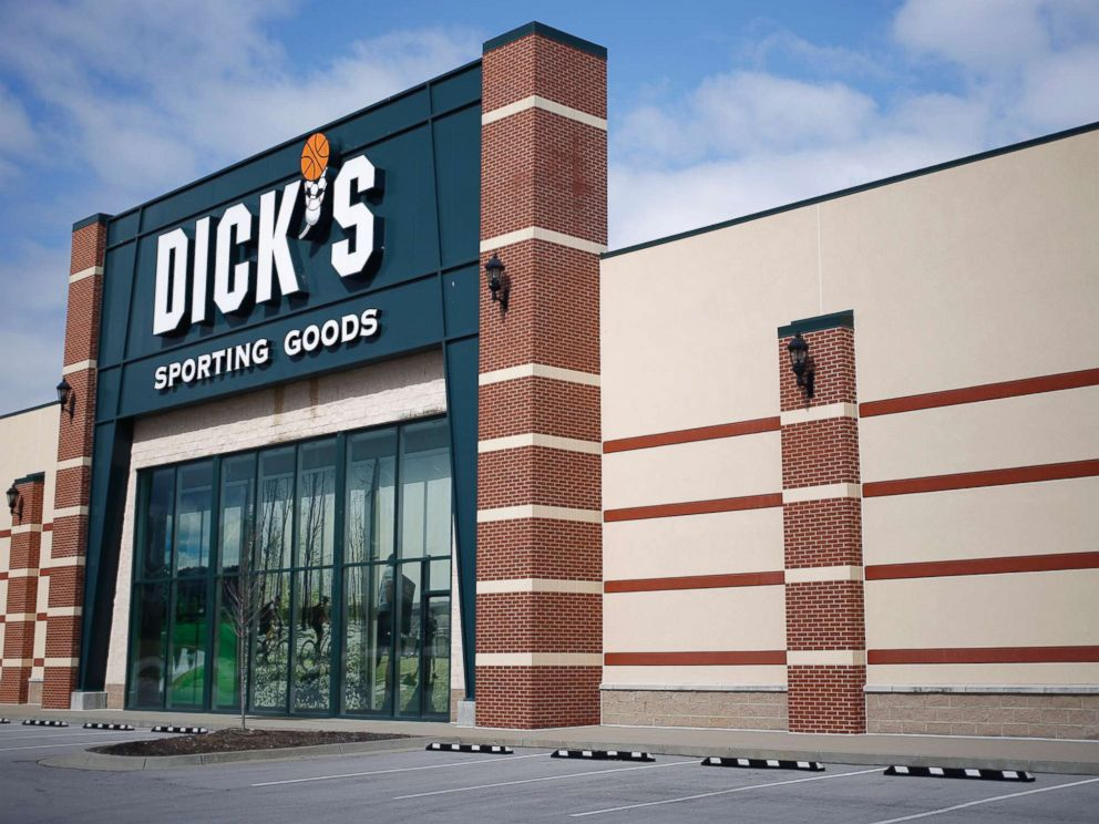 PHOTO: A Dicks Sporting Goods Inc. store is pictured in Frankfort, Ky., March 7, 2018.