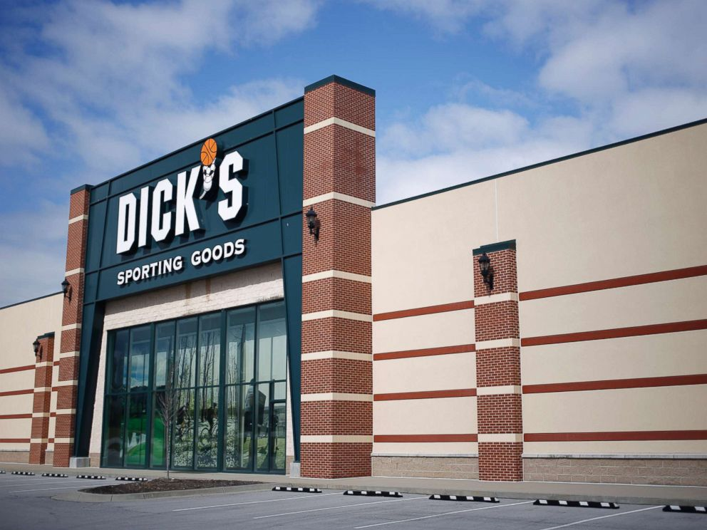 PHOTO: A Dicks Sporting Goods Inc. store is pictures in Frankfort, Ky., March 7, 2018.
