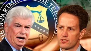 Dodd vs Geithner