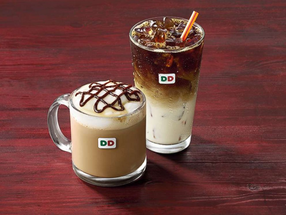 PHOTO: Dunkin Donuts rereleased holiday favorite coffee flavors Peppermint Mocha and Brown Sugar Cinnamon for the 2017 holiday season.