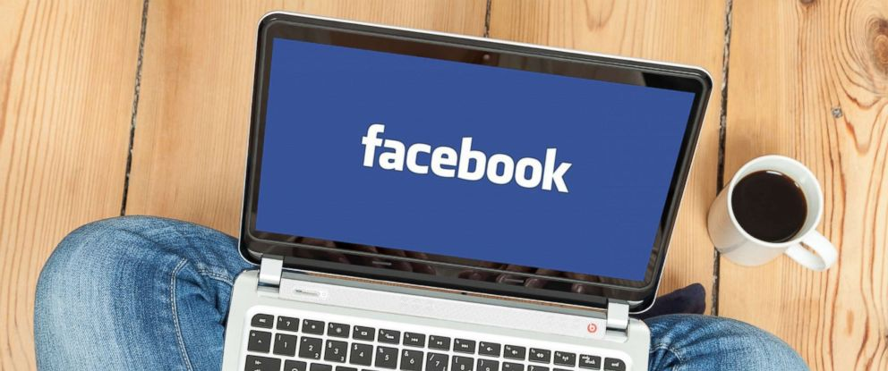 PHOTO: A woman uses Facebook on a laptop in this undated file photo.