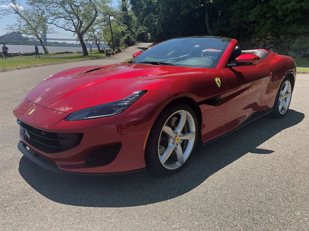 PHOTO: The Portofino, Ferraris entry-level model, is a hardtop convertible with 591 horsepower.