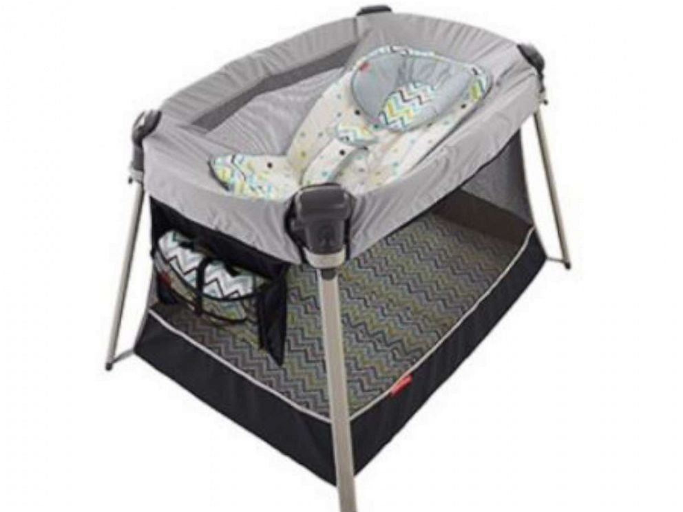 PHOTO: Fisher-Price Recalls Inclined Sleeper Accessory Included with Ultra-Lite Day & Night Play Yards Due to Safety Concerns About Inclined Sleep Products