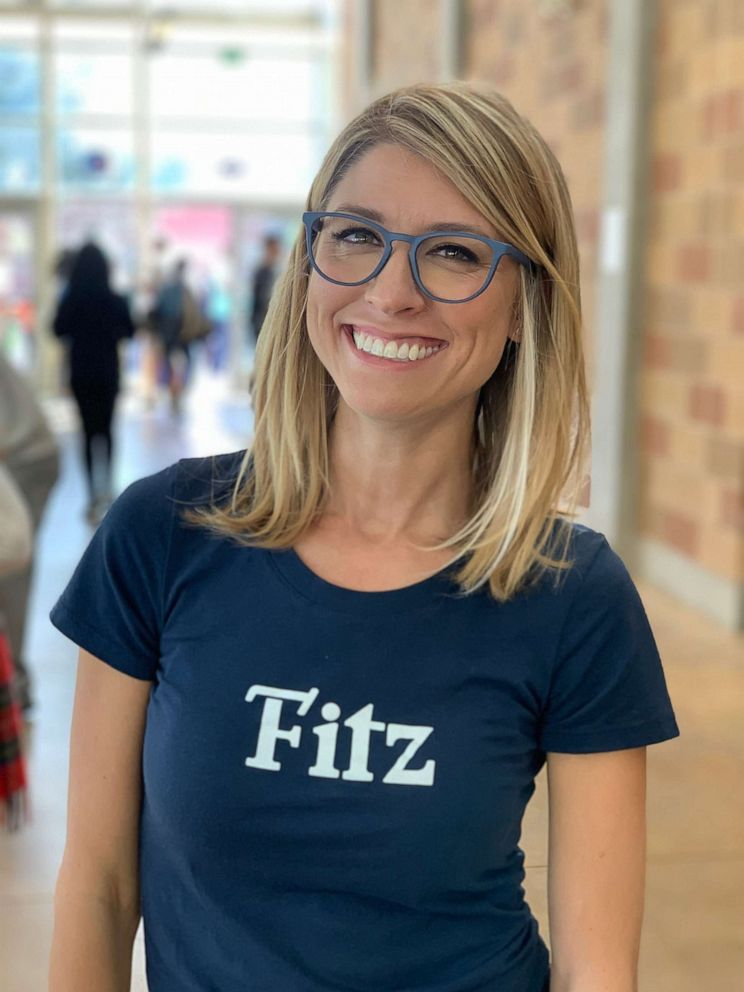 PHOTO: Heidi Hertel founded Fitz Frames, seen here, after struggling to find glasses to fit her own children.