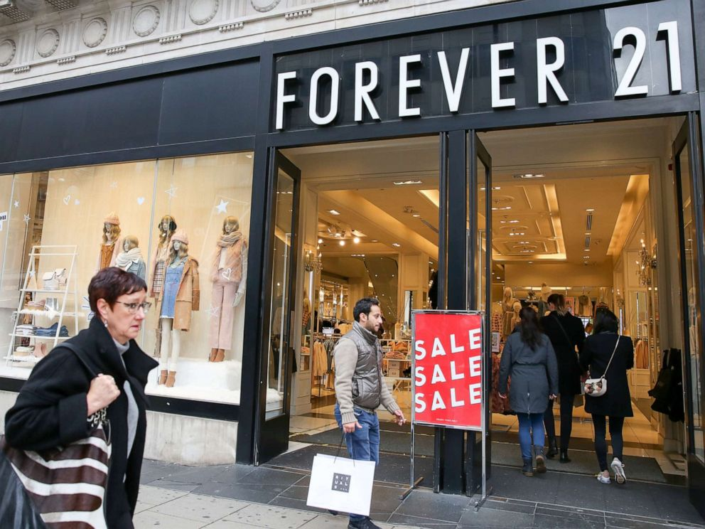 Forever 21 Prepares for Potential Bankruptcy Filing