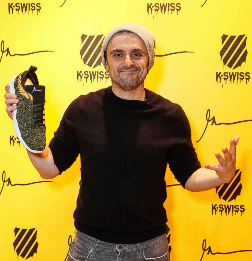 PHOTO: Gary Vaynerchuk at the launch of his latest book Crushing It!: How Great Entrepreneurs Build Business and Influence and How You Can Too at The Truman Brewery on March 8, 2018 in London.