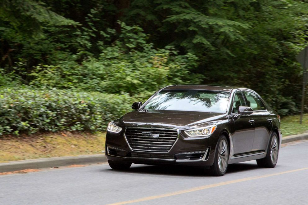 PHOTO: The Genesis G90, the luxury brands flagship sedan.
