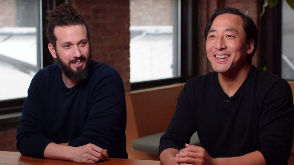 GIPHY's Adam Leibsohn and Alex Chung sit down with ABC News.