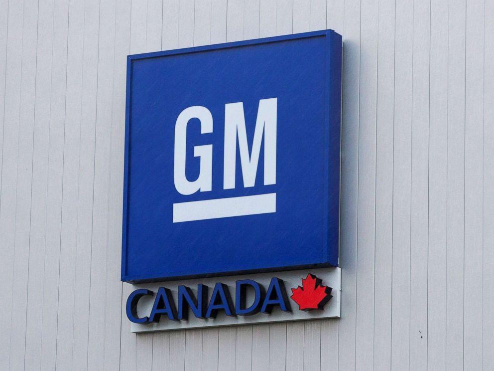 PHOTO: The General Motors assembly plant in Oshawa, Ontario, Canada, Nov. 26, 2018.