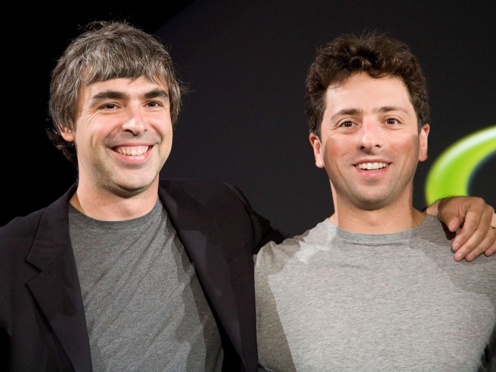 Google co-founder Larry Page stepping down as CEO of Alphabet