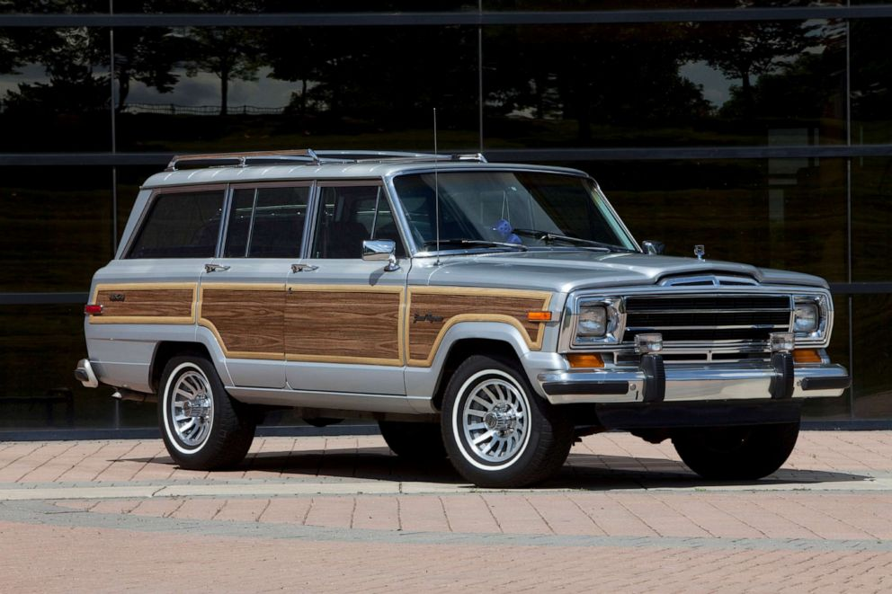 PHOTO: Production of the Grand Wagoneer ended in 1991.
