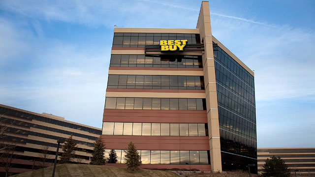 PHOTO: Best Buy Co. headquarters stands in Richfield, Minn., Dec. 28, 2011.