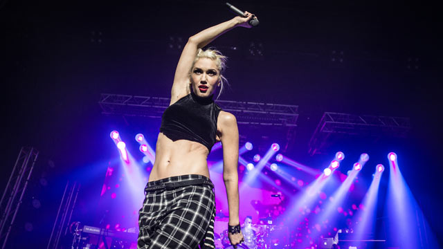 PHOTO: Gwen Stefani from No Doubt performs during the HP Music Connected private concert at Maison De La Mutualite on November 6, 2012 in Paris, France.