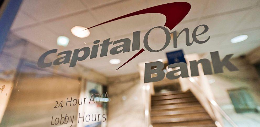 PHOTO: Capital One logo