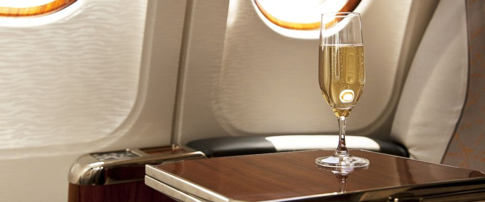 PHOTO: Passengers on flights to certain cities spend more money on alcohol.