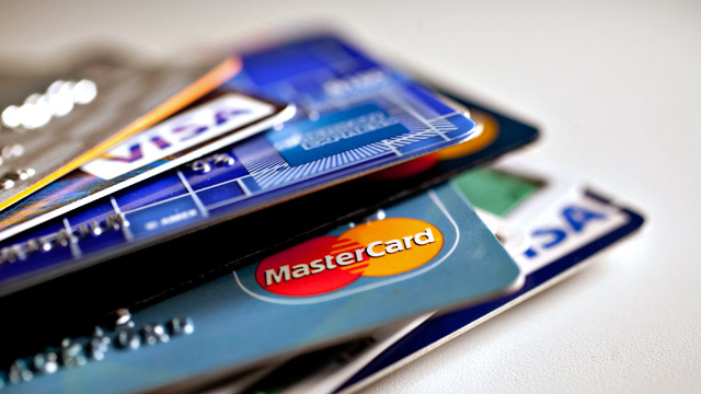 PHOTO: Credit cards