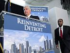 PHOTO: News conference on Detroit bankruptcy