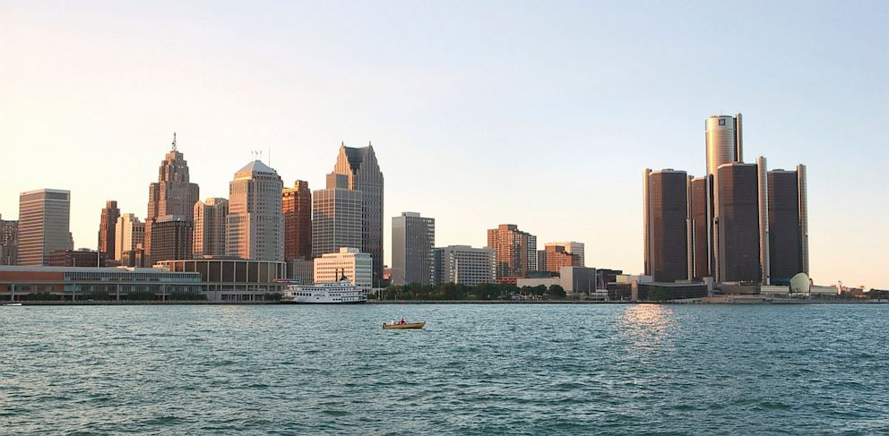 PHOTO: Detroit filed for bankruptcy on July 18, 2013.
