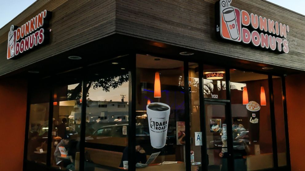 Dunkin Donuts store in pictured, Jan. 27, 2015, in Santa Monica, Calif.